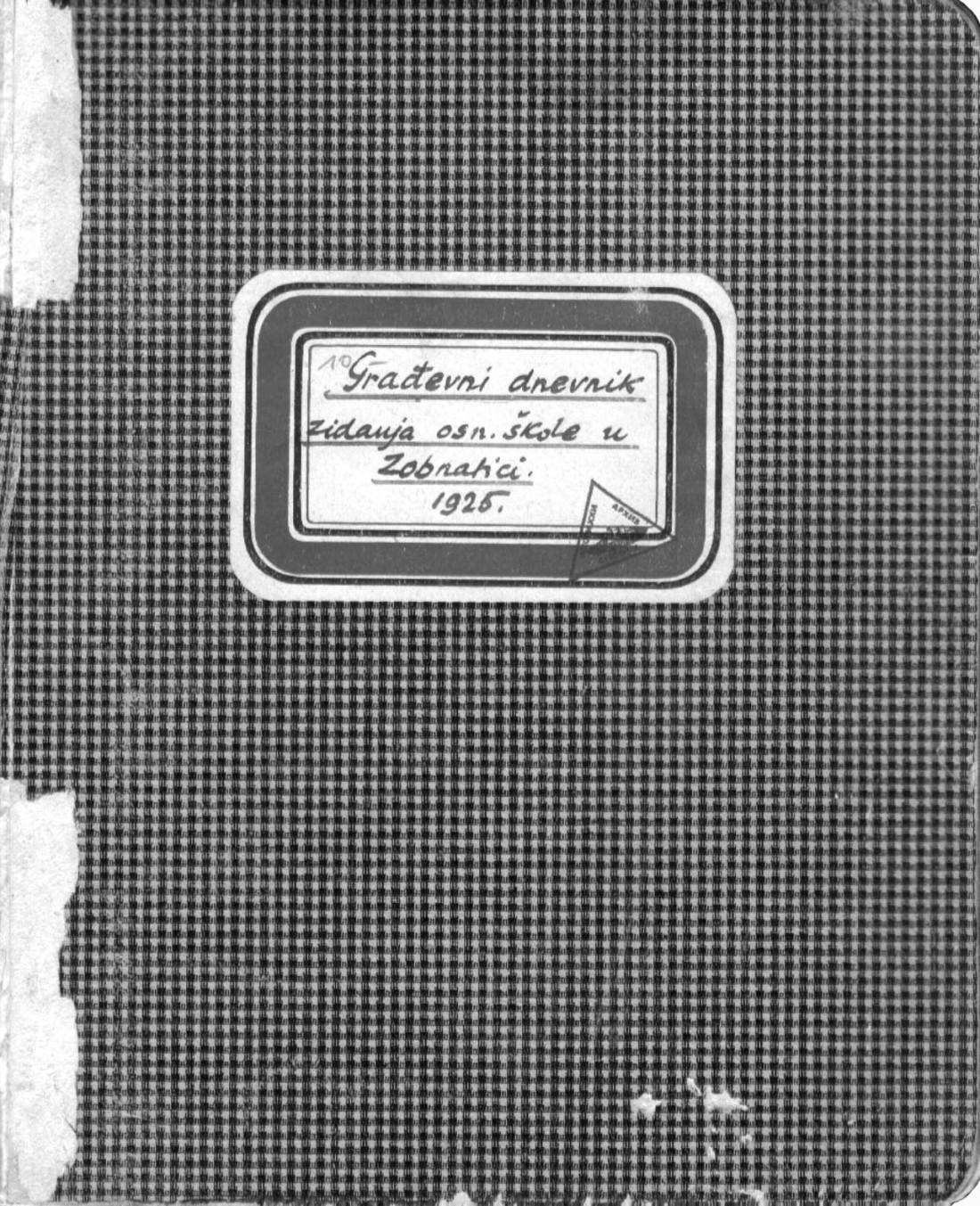 Dnevnik gradjeviski OS Zobnatica F-275 ok